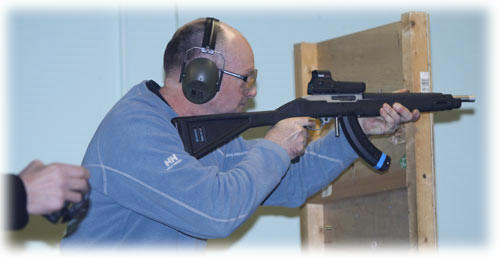 IPSC UKPSA shooting